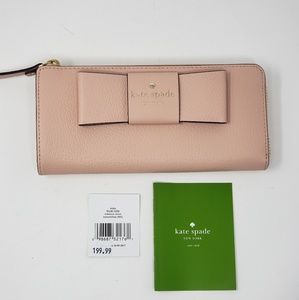 Brand New Kate Spade Zippy Wallet MSRP $225